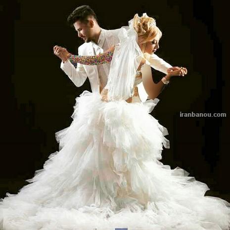 تصاویر ژست عروس و داماد جدید