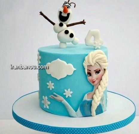 عکس کیک تولد زیبا,عکس کیک تولد دخترانه باربی