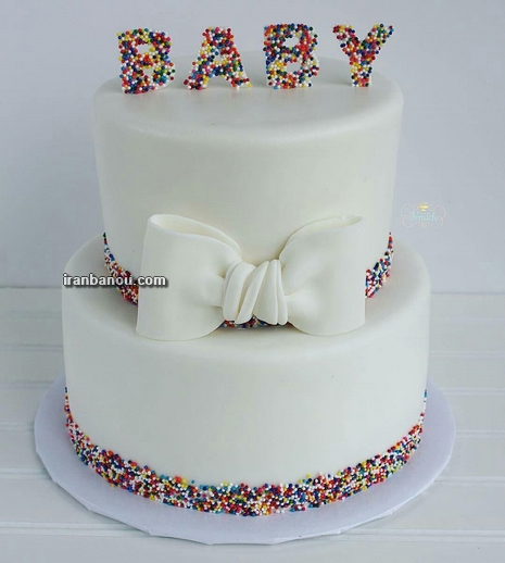 عکس کیک تولد شیک دخترانه,عکس کیک تولد دخترانه جدید