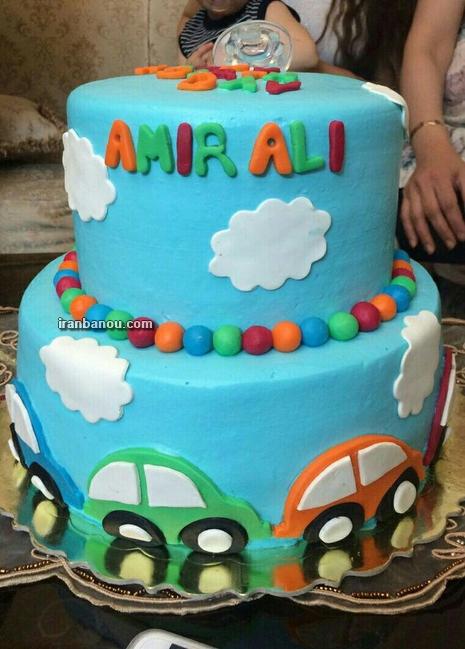 کیک تولد دخترانه نوجوان,عکس کیک تولد دخترانه ساده