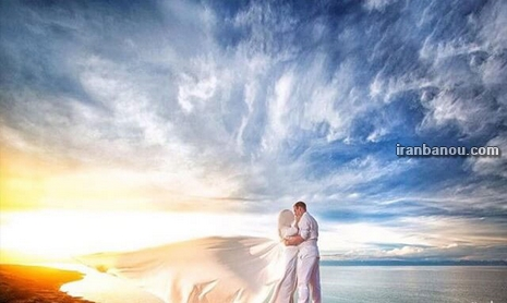 عکس عروس و داماد با فیگور های مختلف و جدید در باغ و آتلیه ۹۸ و ۲۰۱۹