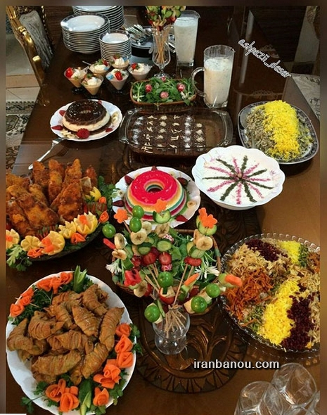 Image result for غذا برای تولد