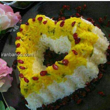 مدل تزیین کباب تابه ای انواع تزیین برنج مجلسی