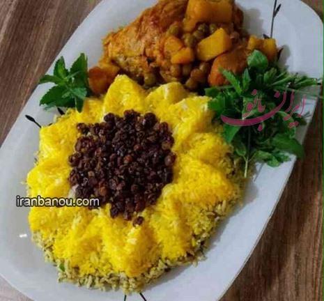 تزیین انواع غذا و دسر ایرانی - پورتال جامع ایران بانو