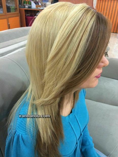 رنگ مو زیتونی عسلی