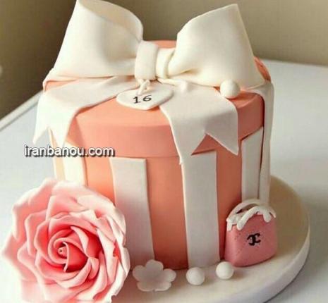 مدل کیک تولد بزرگسالان