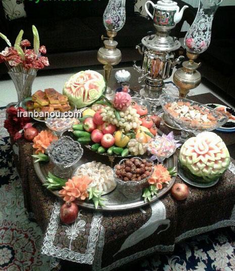 تزیین هندوانه ساده