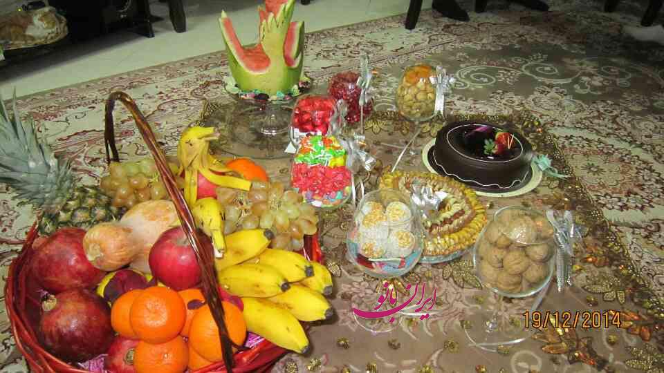 آموزش تزیین عیدی عروس نمونه ای از تزیینات شب یلدا برای عروس