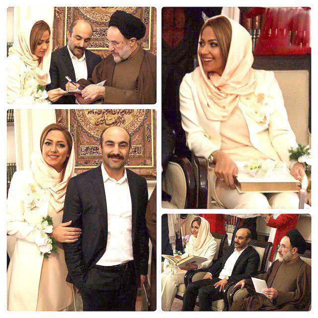 محسن تنابنده ازدواج کرد, همسر محسن تنابنده, عکس عروسی محسن تنابنده