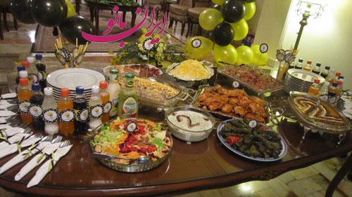 میز تولد بچه ها