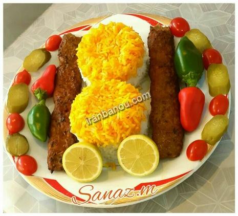 عکس+تزیین+غذا+و+سالاد