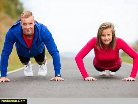 برنامه کاهش وزن با ورزش