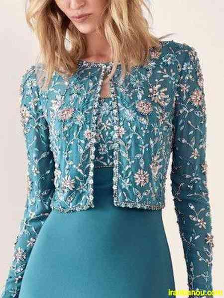 لباس مجلسی گیپور مدل لباس مجلسی جدید بلند و کوتاه و گیپور زنانه و دخترانه 98 و 2019