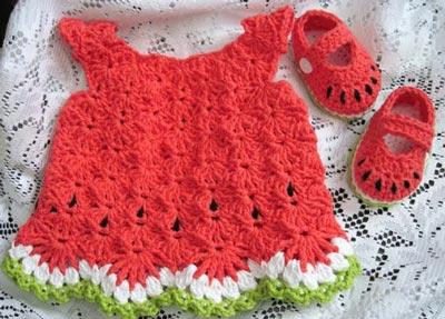 لباس بچه طرح هندوانه