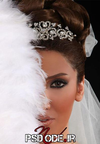 آرایش عروس فیگور عروس