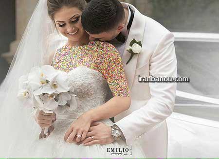 عکس ژست های زیبای عروس و داماد
