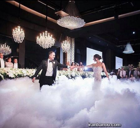 عروس داماد قلاب بافی 60 مدل عکس عروس و داماد | ژست عکس سرمجلسی عروس و داماد 2019