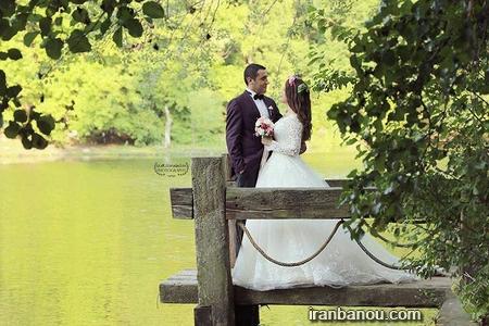 عکس عروس داماد