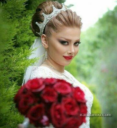 عکس عروس و داماد در فیس بوک