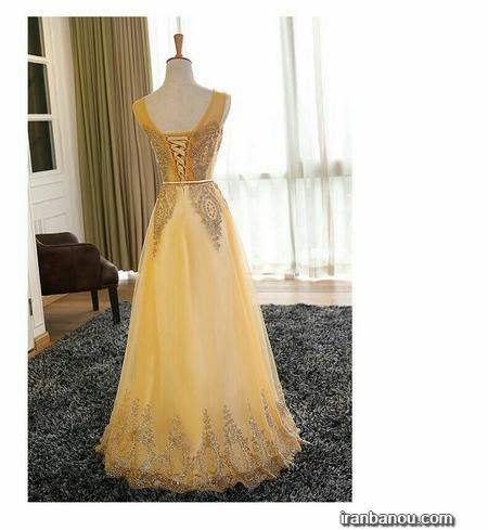 مدل لباس گیپور مجلسی شیک جدید