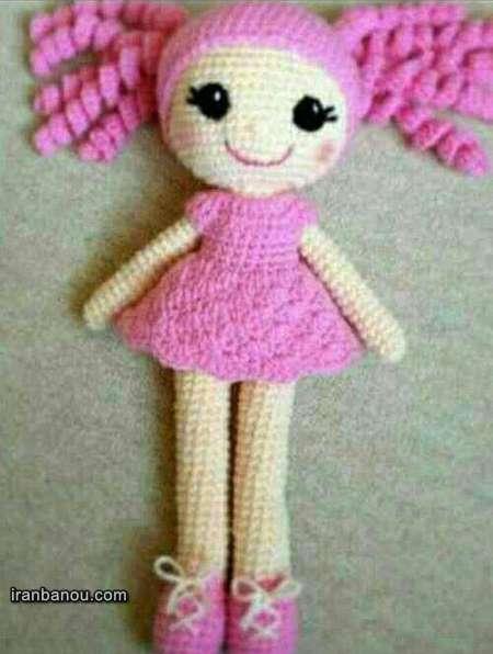 بافت عروسک با قلاب