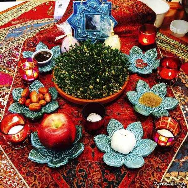 انواع بذر هفت سین عکس انواع سفره هفت سین سنتی و مدرن