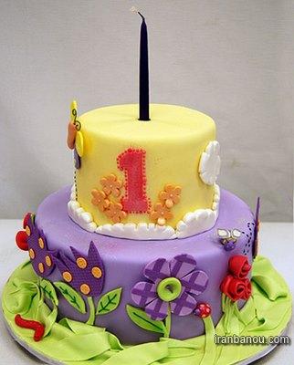 عکس کیک تولد مردانه