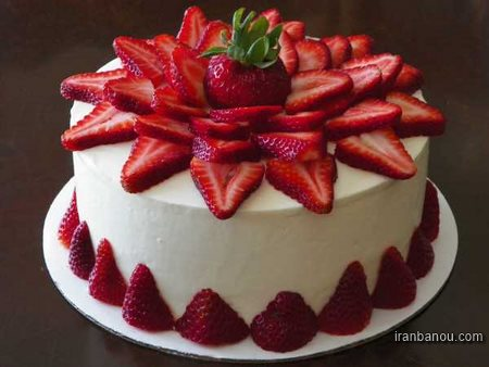 کیک ساده اسفنجی
