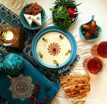 منو افطاری