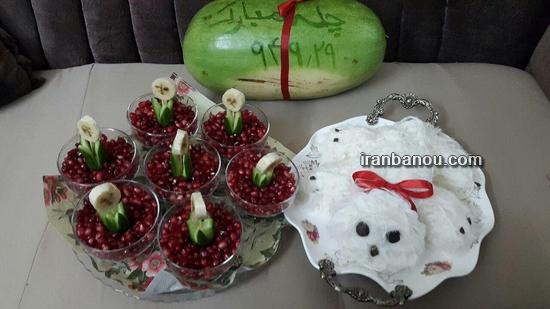 تزیین پشمک برای تولد