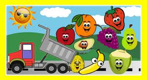 کلیپ انگلیسی کودکانه ( Fruit Song )