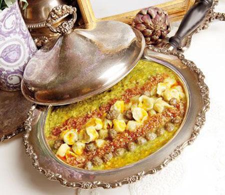 نحوه پخت آش مانتی,طرز تهیه آش های مخصوص افطار