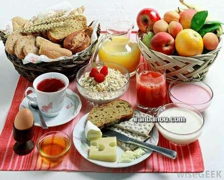 عکس تزیین صبحانه کودک تزیین صبحانه کودک با پنیر