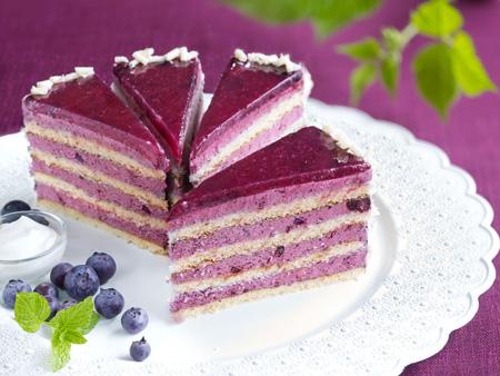 تزیین کیک اسفنجی,تزیین کیک اسفنجی با میوه