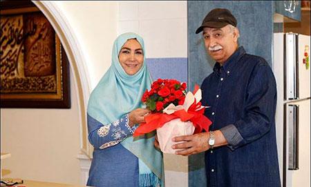 بیوگرافی مهوش صبرکن و همسرش محمود پاک نیت