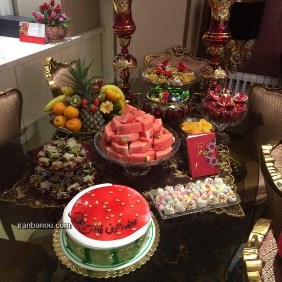 کیک هندوانه شف طیبه