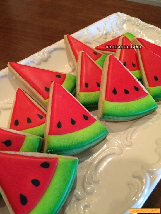 کیک مدل هندوانه