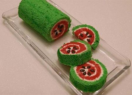 کیک با آب هندوانه