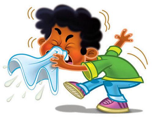 عکس کارتونی سرماخوردگی