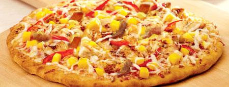 پیتزا مخلوط با انبه,طرز تهیه پیتزا مخلوط با انبه