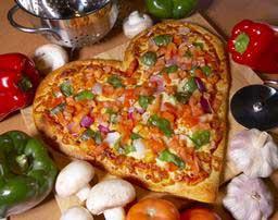 پیتزا قلب,طرز تهیه پیتزا قلب