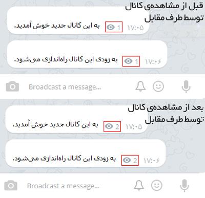 ترفندهای تلگرام , مخفی بودن در تلگرام