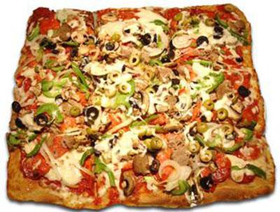 پیتزا سیسیلی,طرز تهیه پیتزا سیسیلی