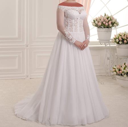 جدیدترین مدل لباس عروس, لباس عروس سایز بزرگ