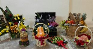تزیین هدایای شب یلدا عروس
