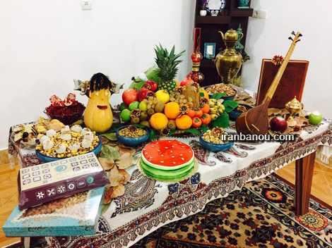 تزیین هندوانه شب یلدا به روش ساده