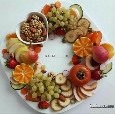 دیزاین میز میوه