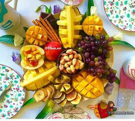 دیزاین میوه برای تولد