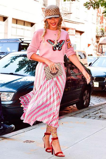 لباس های ستارگان هالیوودی در هفته مد نیویورک,بهترین لباس ها در هفته مد نیویورک