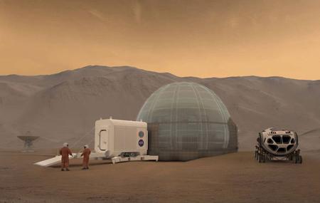 طرح خانه های مریخی,طرح خانه های مریخی ناسا